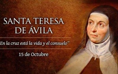 Celebración de Santa Teresa de Jesús