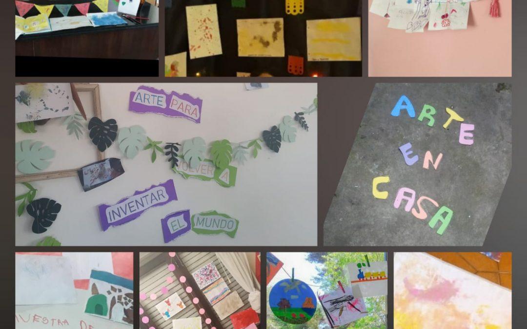"""Muestra de arte Jardín ISA """"Arte en casa"""""""
